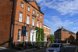 bank house hotel, uttoxeter, staffordshire